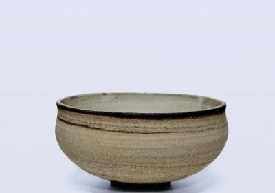 bol cuenco ceramica hecho a mano arena