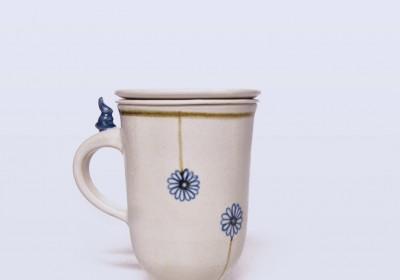 taza especial infusiones ceramica
