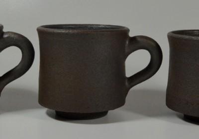 tazas marrón