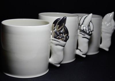 tazas porcelana percebe